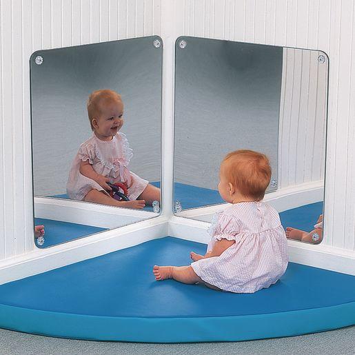 Pair of Corner Mirrors