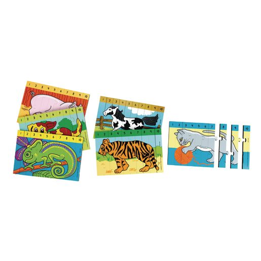 Excellerations® Number Sequence Puzzles - Set of 6