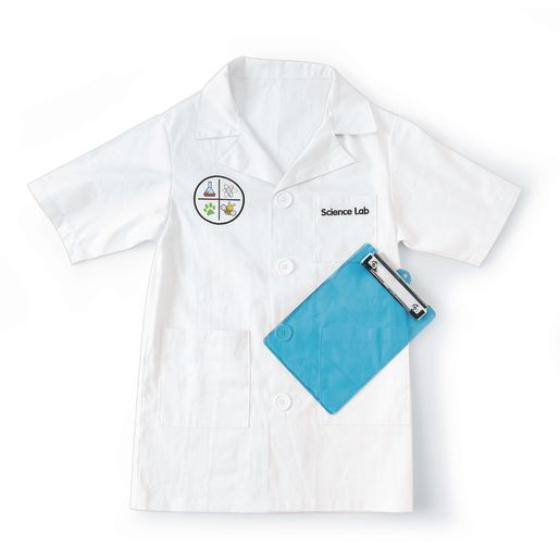 Image of Excellerations Science Lab Coat with Clipboard