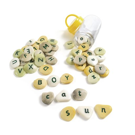 Image of Alphabet Pebbles - Lowercase, Set of 26