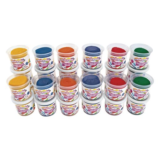 Image of Colorations Classic Dough - 5 oz. - Set of 30