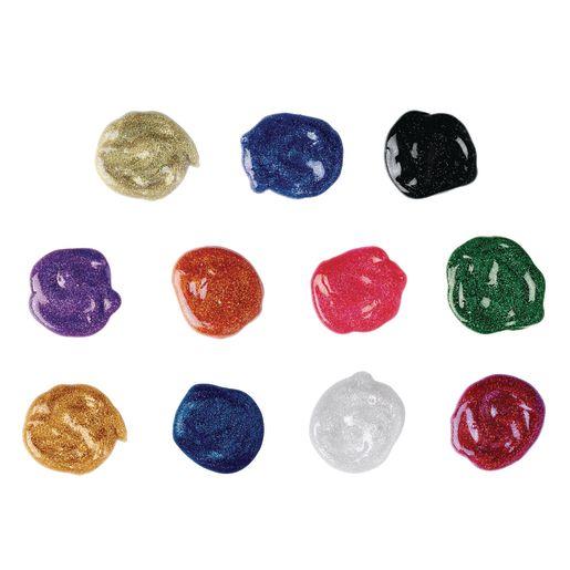 Colorations® Washable Glitter Paint, 16 oz.
