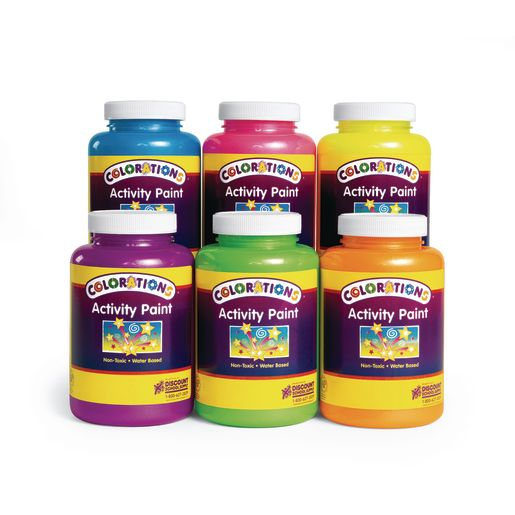Colorations® Sparkle Activity Paint, 16 oz.