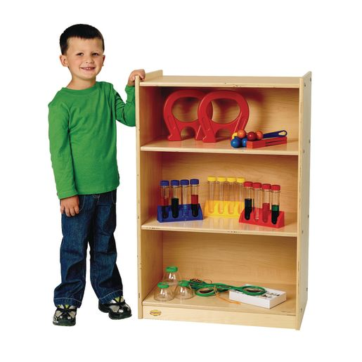 Image of Value Line Birch 3-Shelf Narrow Storage