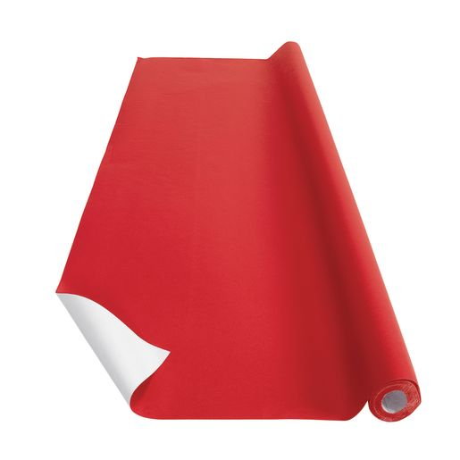 Image of Red Colorations Prima-Color Fade-Resistant Paper Roll, 48 x 60' ONE ROLL ONLY