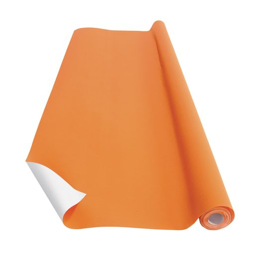 Image of Orange Colorations Prima-Color Fade-Resistant Paper Roll, 48 x 60' ONE ROLL ONLY