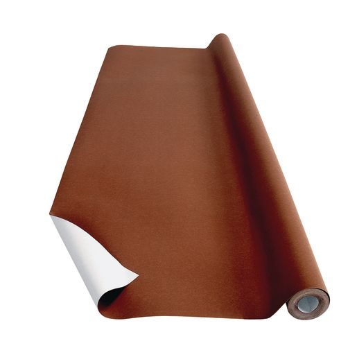 Image of Brown Colorations Prima-Color Fade-Resistant Paper Roll, 48 x 60' ONE ROLL ONLY