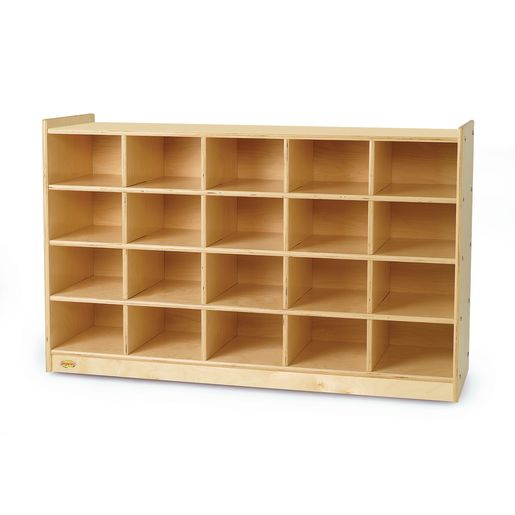 "Value Line™ Birch Tray Storage 30""H with Trays"