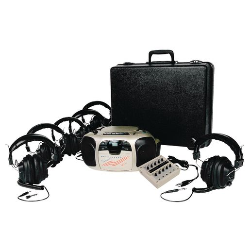 Califone® 6-Position Spirit™ Listening Center