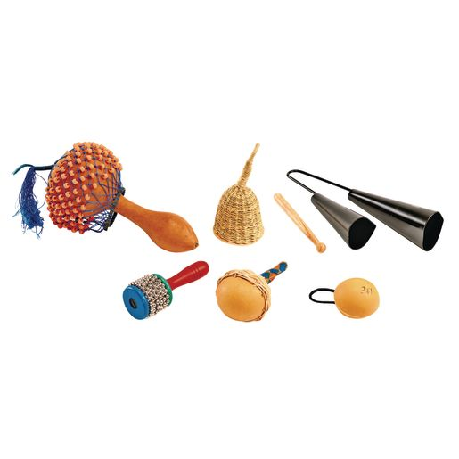 African Music Instruments - Set of 6