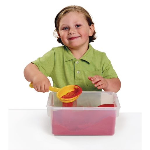 Sandtastik® Colored Play Sand - 4 Colors, 10 Pounds Each