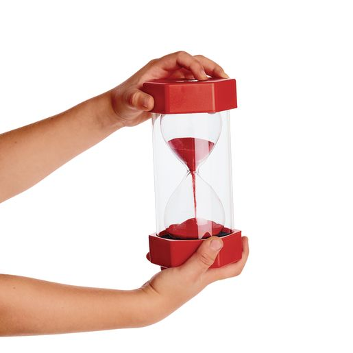Sand Timer - 30 Seconds, Red