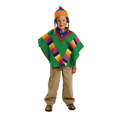 Image of Excellerations Peruvian Boy Costume