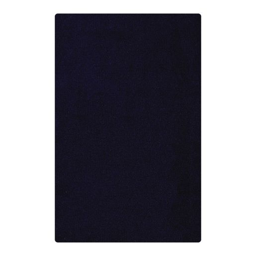 "Solid Color Carpet - Dark Blue 5'10"" x 8'5"" Rectangle"