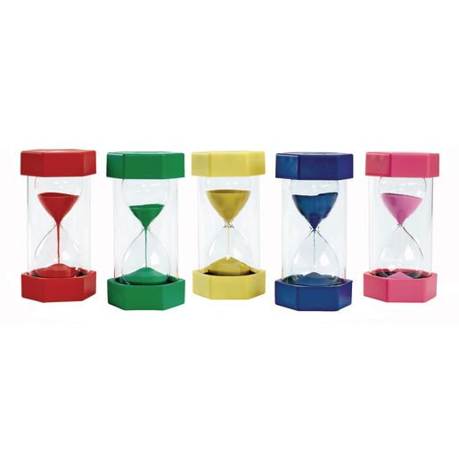 Excellerations® Sand Timers - Set of 5
