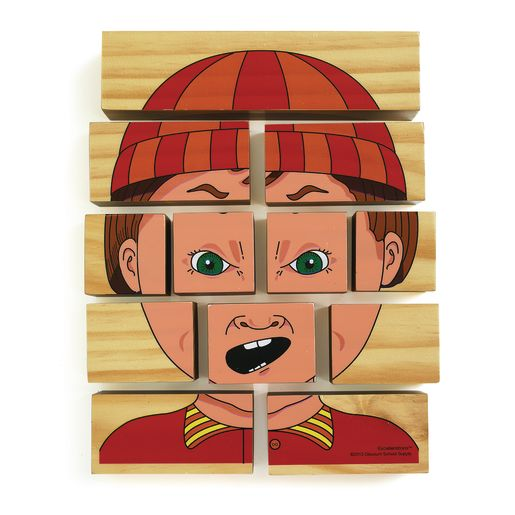 Excellerations® Changing Emotions Block Puzzle