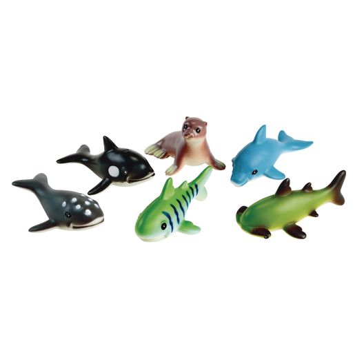 Soft Touch Baby Sea Creatures - Set of 6