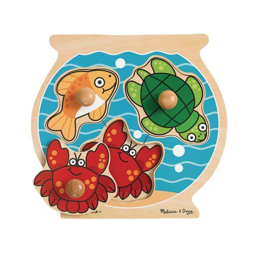 Image of Jumbo Knob Puzzle - Fish Bowl