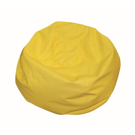 "35"" Deluxe Beanbag - Yellow"