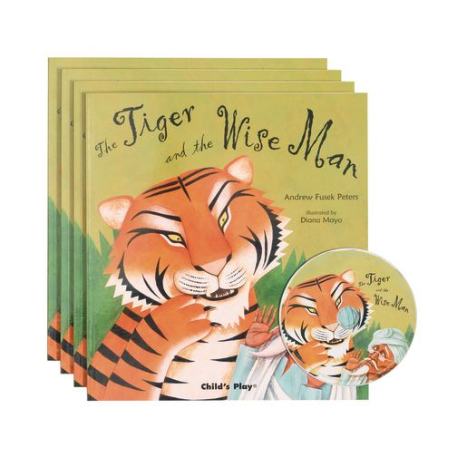 """Tiger and the Wise Man"" - 4 Paperback Books and 1 CD"