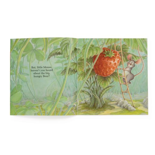 """The Red Ripe Strawberry and the Big Hungry Bear"" - 4 Paperback Books and 1 CD"