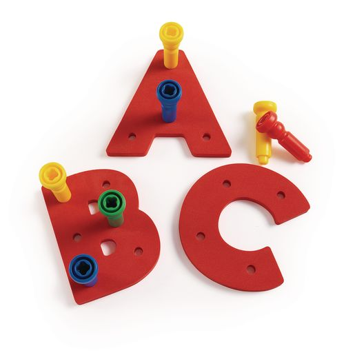 Tall-Stacker™ Uppercase A-Z Pegboards - 157 Pieces