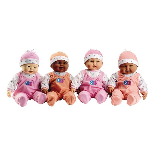 "Lots to Cuddle 20"" Baby Dolls - Set of 4"