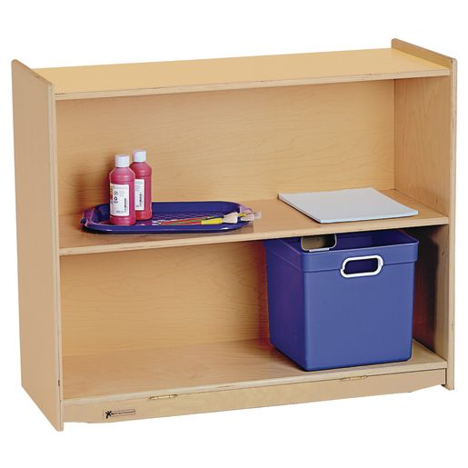 Image of MyPerfectClassroom 36W Straight Shelf Mobile Storage