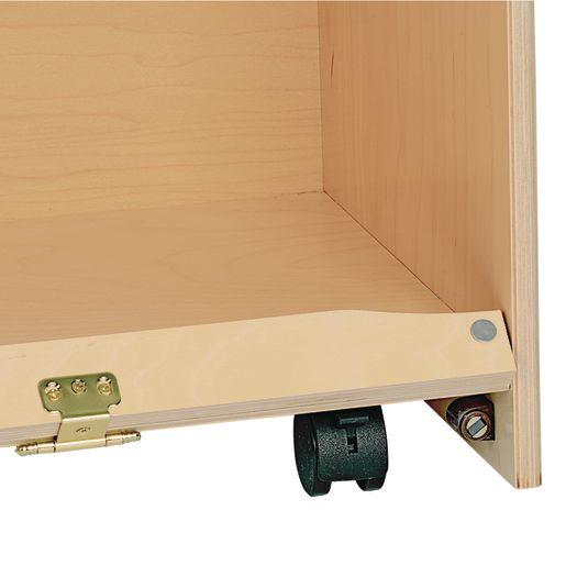"""MyPerfectClassroom® 36""""W Straight Shelf Mobile Storage"""