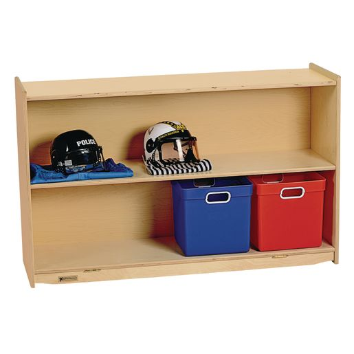 Image of MyPerfectClassroom 48W Straight Shelf Mobile Storage