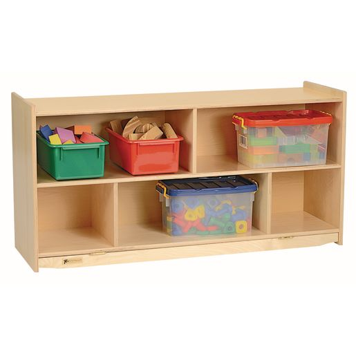 Image of MyPerfectClassroom 24H Divided Shelf Mobile Storage