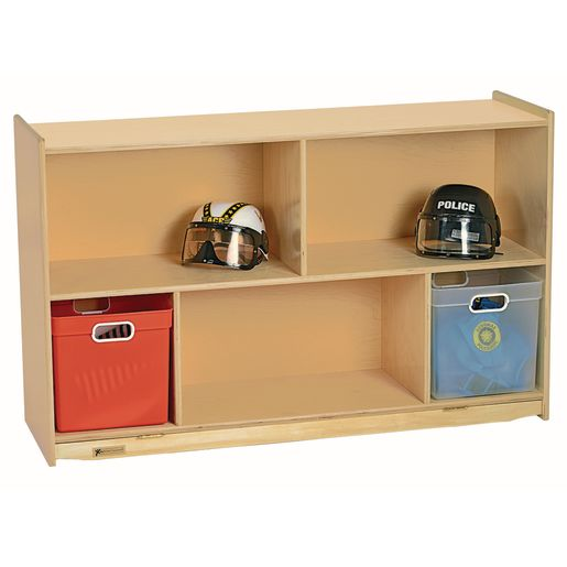 Image of MyPerfectClassroom 29H Divided Shelf Mobile Storage