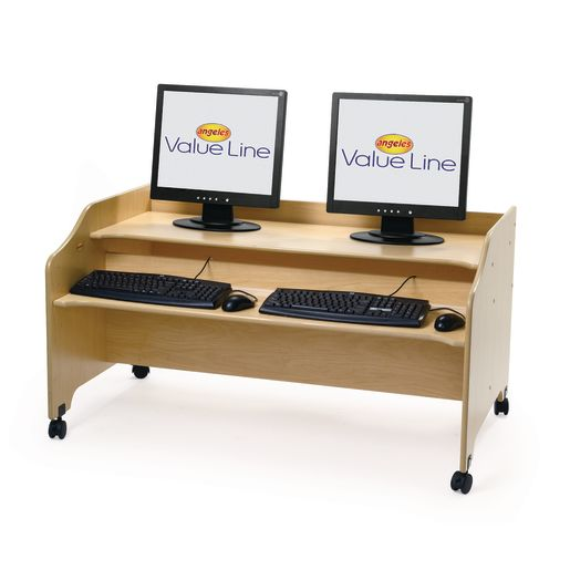 Angeles Value Line Double Computer Station