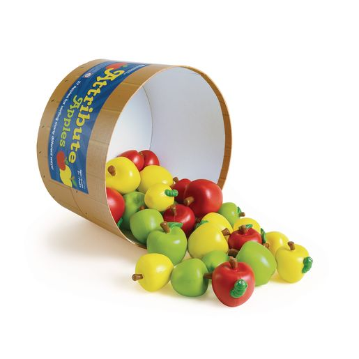 Attribute Apple Counters - Set of 27 Apples