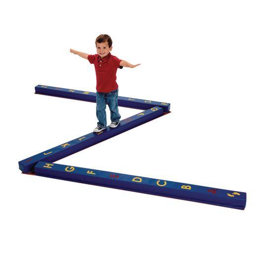 WeeKidz™ Alphabet Balance Beams