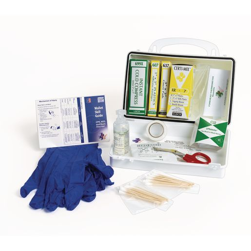 Head Start First Aid Hard Case Kit - 72 Pieces