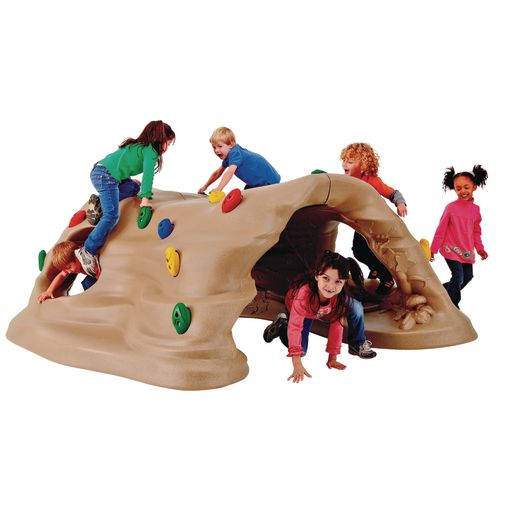 Climb and Discover Cave - In-Ground Mount