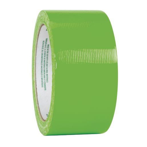 Image of Duck Tape - Neon Green, 15 yds.