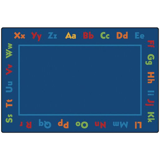 Alphabet ValuePLUS™ Rug - 6' x 9' Rectangle
