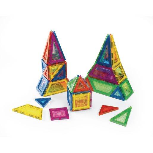 Excellerations® Building Brilliance® Magnetic Shapes - 48 Pieces