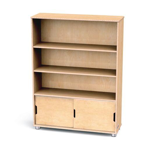 TrueModern® Straight Shelf Storage - 3 Shelves
