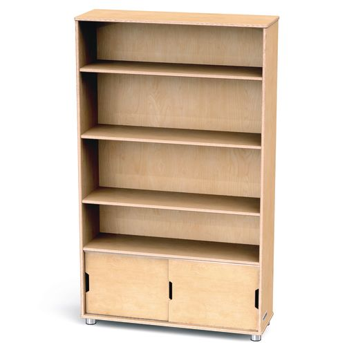TrueModern® Straight Shelf Storage - 4 Shelves