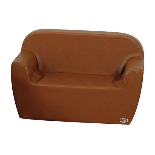Woodland Preschool Club Sofa - Walnut