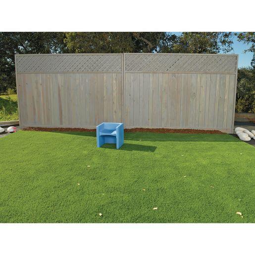 Cozy Woodland Cube Chair - Sky Blue