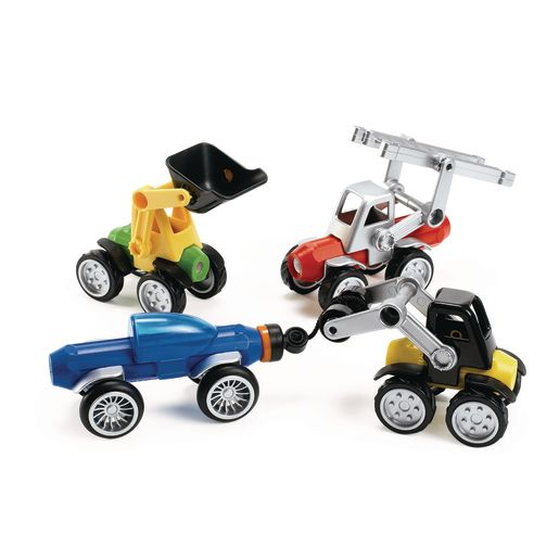 Image of SmartMax Power Vehicles - 26 Pieces