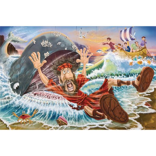 Jonah and the Whale Floor Puzzle