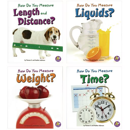 Image of How Do You Measure? Paperback Books - 4 Titles
