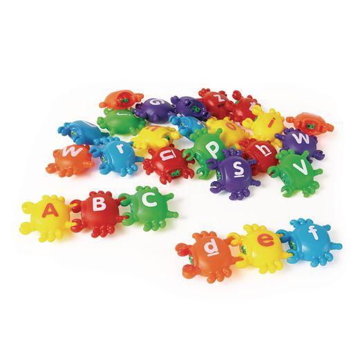 Image of Smart Splash Letter Link Crabs - Set of 26