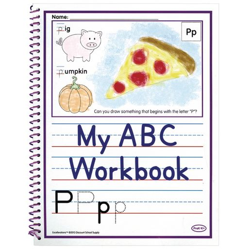 Image of Excellerations Alphabet Skills Workbooks - Set of 10
