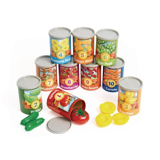 Image of 1 to 10 Counting Cans